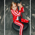 Zipped patterned sweatshirt THE MARC JACOBS for GIRL