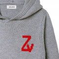HOODED SWEATER OR JUMPER ZADIG & VOLTAIRE for BOY