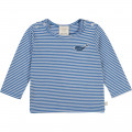Long-sleeved striped T-shirt CARREMENT BEAU for BOY