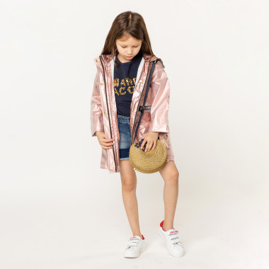 Short en denim bas contrastant LITTLE MARC JACOBS pour FILLE