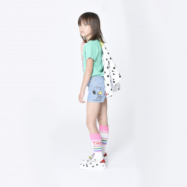 Short denim taille ajustable THE MARC JACOBS pour FILLE
