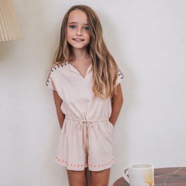 Combi-short en viscose CARREMENT BEAU pour FILLE