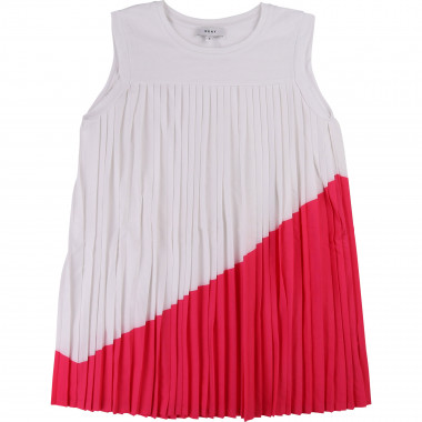 ROBE PLISSEE DKNY pour FILLE
