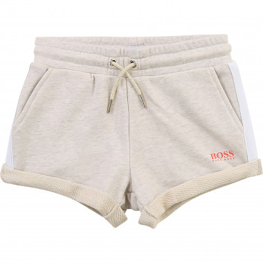 Short en molleton de coton BOSS pour FILLE