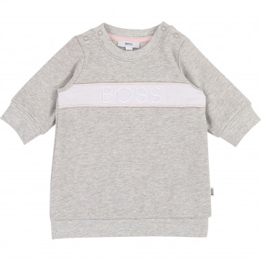 Robe sweat en molleton BOSS pour FILLE