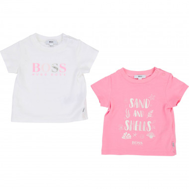 Lot de 2 t-shirts BOSS pour FILLE