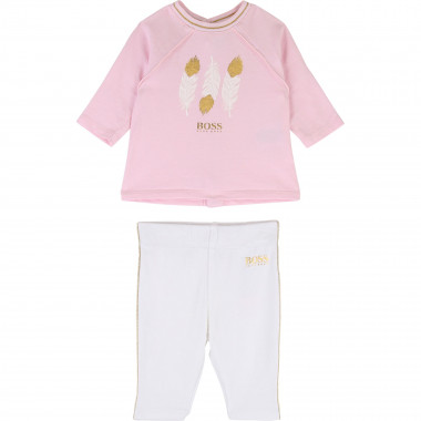 Ensemble T-shirt + legging BOSS pour FILLE