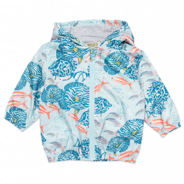 Coupe-vent en polyester recycl KENZO KIDS pour FILLE