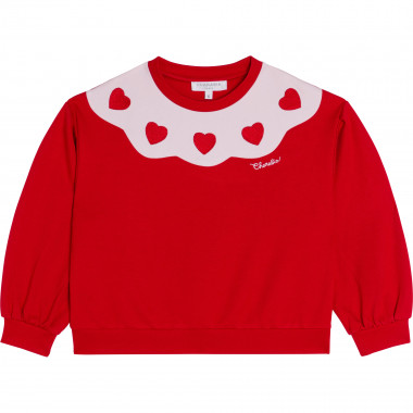 Sweat en maille CHARABIA pour FILLE
