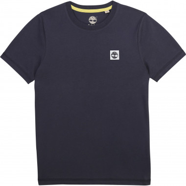T-shirt col rond jersey coton TIMBERLAND pour GARCON