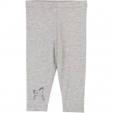 Legging coton stretch imprimé BILLIEBLUSH pour FILLE