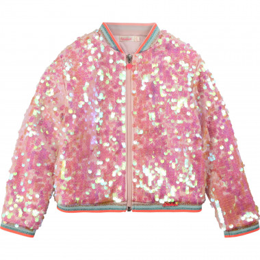 Bomber en sequins bords rayés BILLIEBLUSH pour FILLE