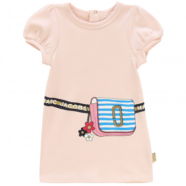 Robe à manches ballon en coton LITTLE MARC JACOBS pour FILLE