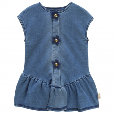 Robe en molleton denim LITTLE MARC JACOBS pour FILLE