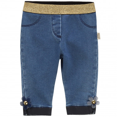 Pantalon en denim molletonné LITTLE MARC JACOBS pour FILLE