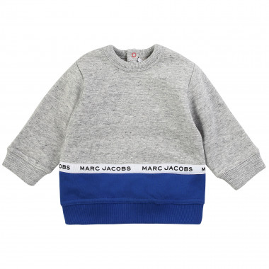 Sweat bicolore molletonné LITTLE MARC JACOBS pour GARCON