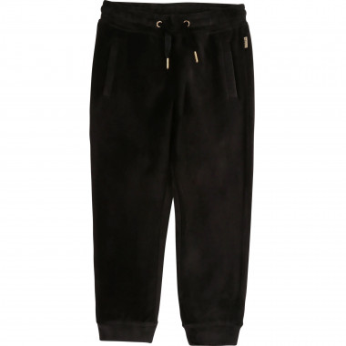 Pantalon de jogging velours LITTLE MARC JACOBS pour FILLE