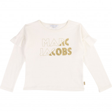 T-shirt jersey coton et modal LITTLE MARC JACOBS pour FILLE
