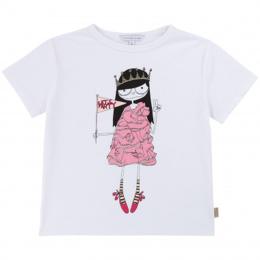 T-shirt en coton illustré LITTLE MARC JACOBS pour FILLE