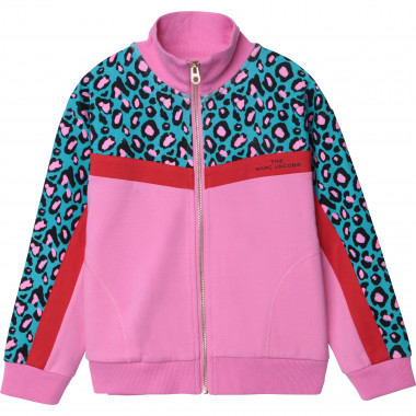 Cardigan de jogging molleton THE MARC JACOBS pour FILLE
