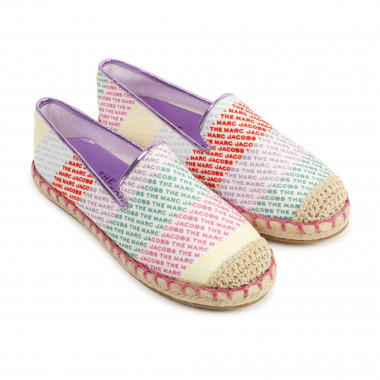 Espadrilles multicolores THE MARC JACOBS pour FILLE