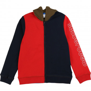 Veste de jogging color block LITTLE MARC JACOBS pour GARCON