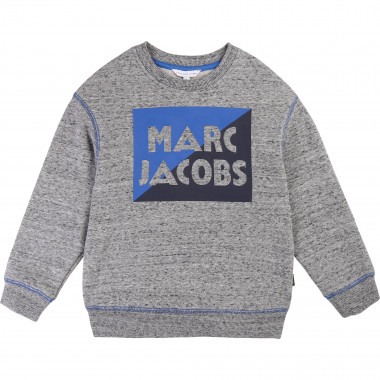 Sweat-shirt en molleton gratté LITTLE MARC JACOBS pour GARCON