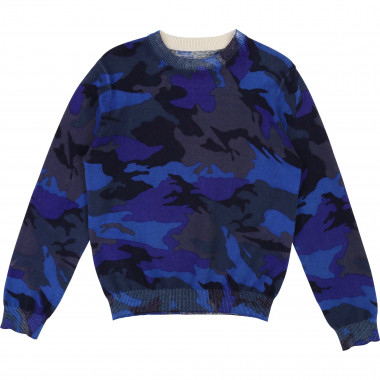 Pull camouflage ZADIG & VOLTAIRE pour GARCON