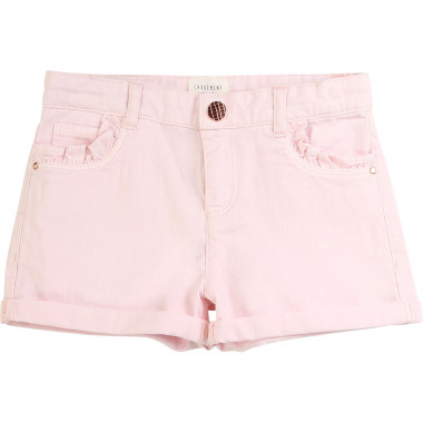 Short en drill de coton CARREMENT BEAU pour FILLE