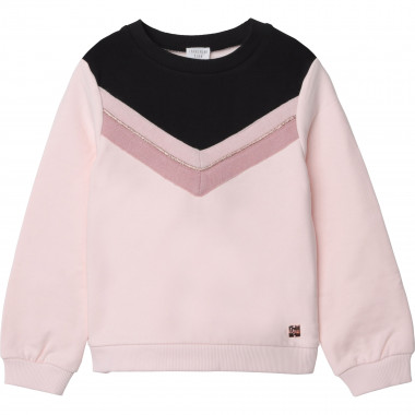 Sweat en coton molleton CARREMENT BEAU pour FILLE