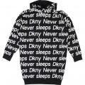 Robe logo all over DKNY pour FILLE