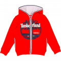 Cardigan aux finitions rayées TIMBERLAND pour GARCON