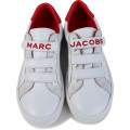Baskets en cuir à scratch LITTLE MARC JACOBS pour GARCON