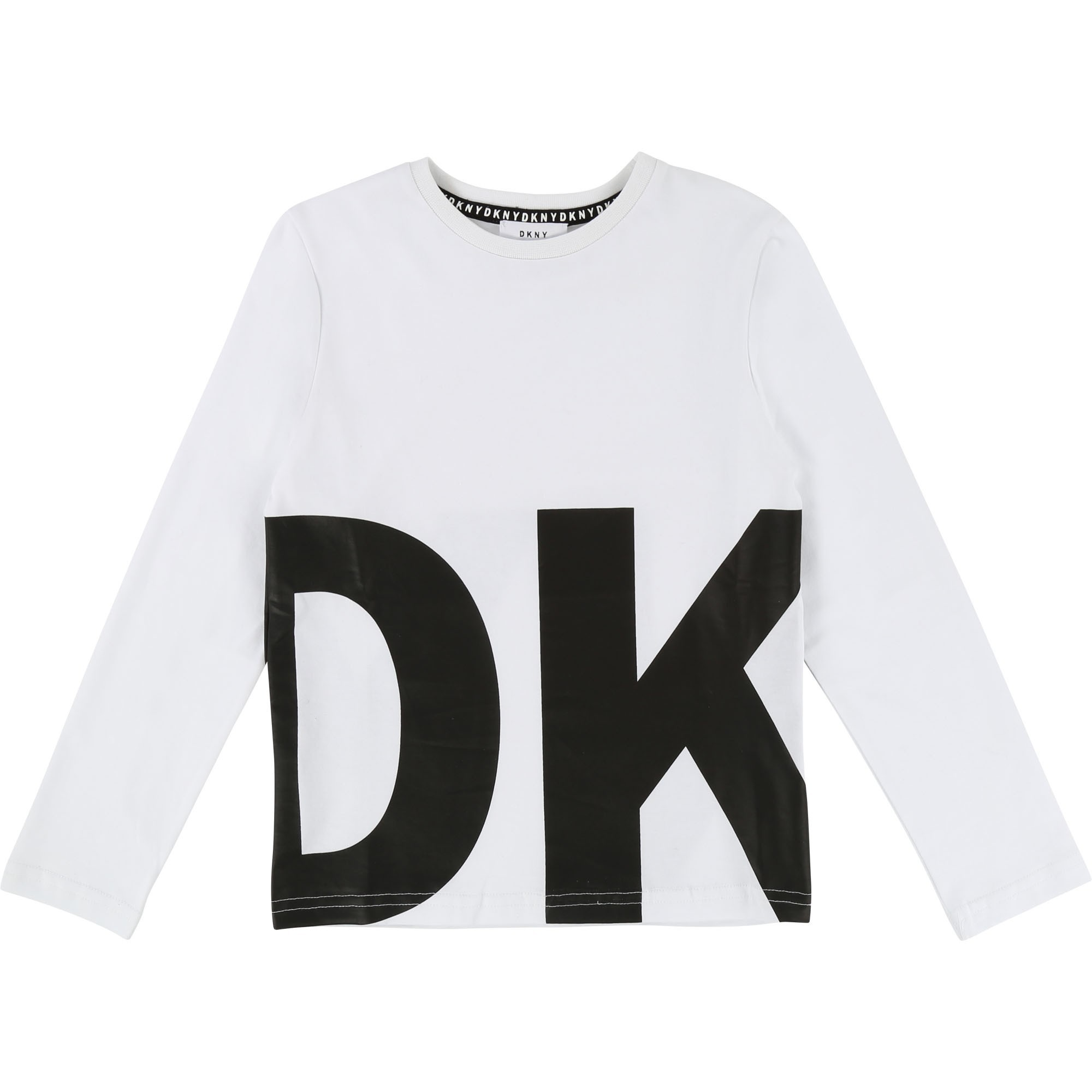47e23158 DKNY Long-sleeve T-shirt boy white - | Kids around