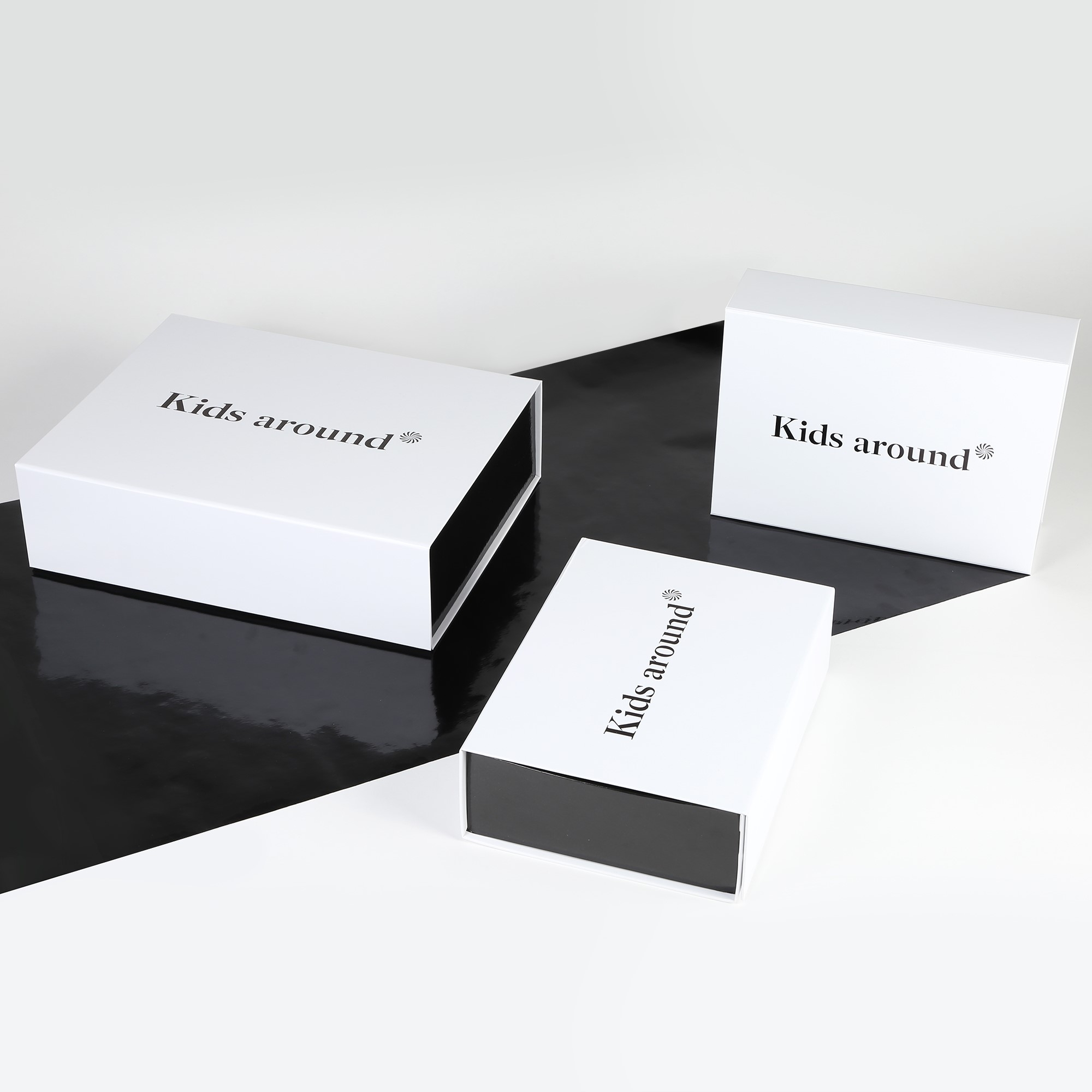 Gift box and gift message  for