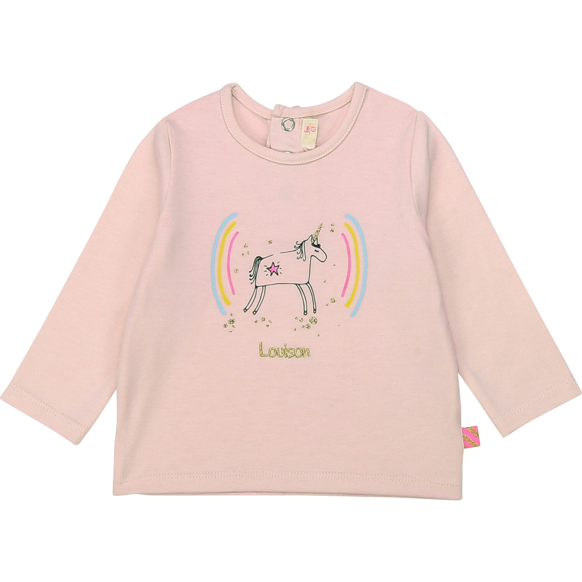 T-shirt coton à illustration BILLIEBLUSH pour FILLE