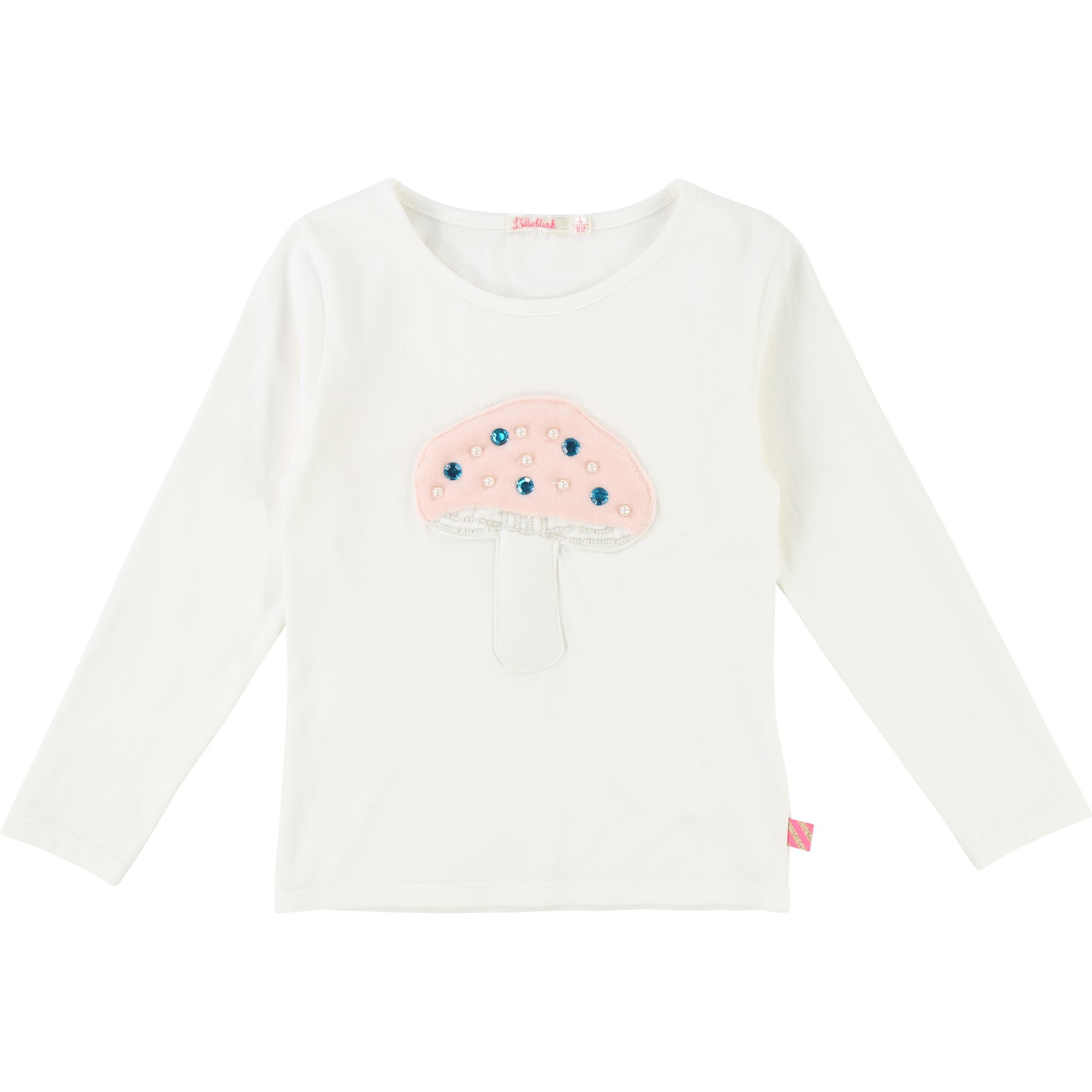 Cotton fancy mushroom t-shirt BILLIEBLUSH for GIRL