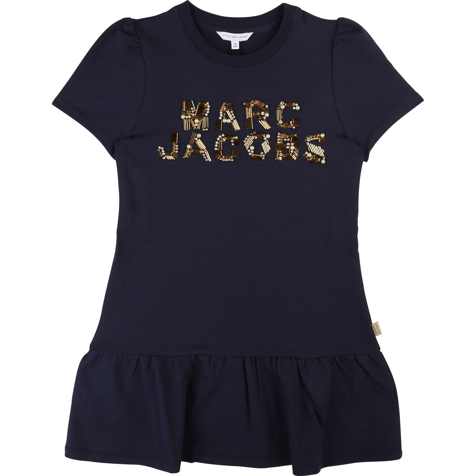Dress with frills and beads LITTLE MARC JACOBS for GIRL