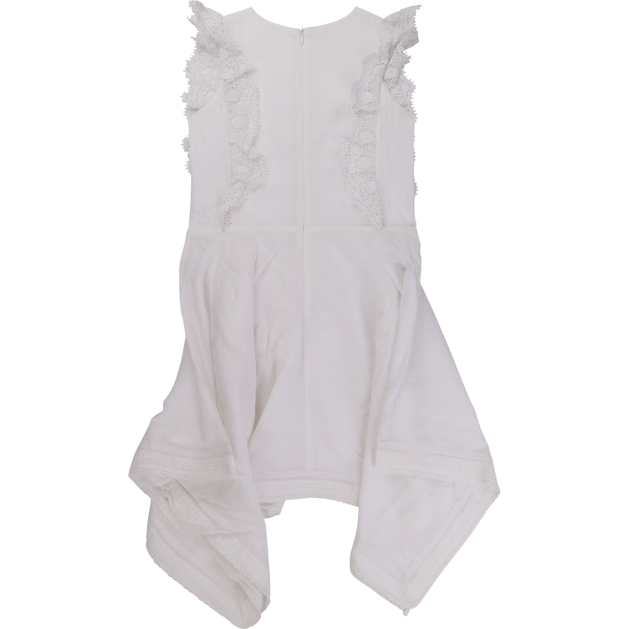 Lace and cotton voile dress ZADIG & VOLTAIRE for GIRL