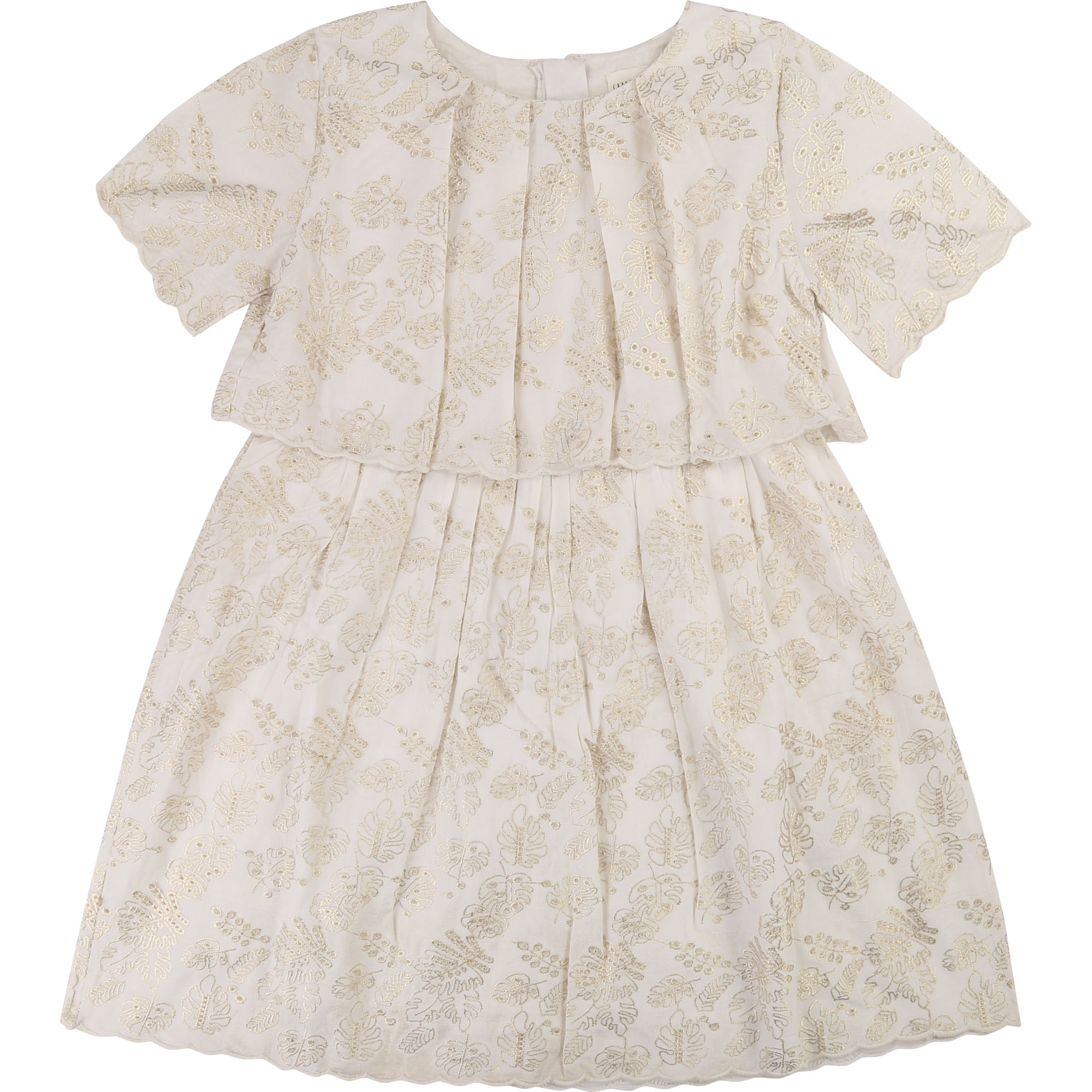Robe en broderie anglaise CARREMENT BEAU pour FILLE