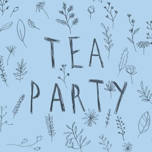 DIY tea party