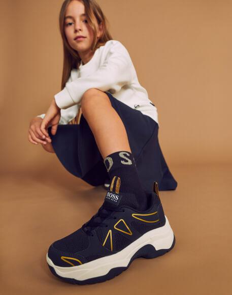 chaussures fille boss