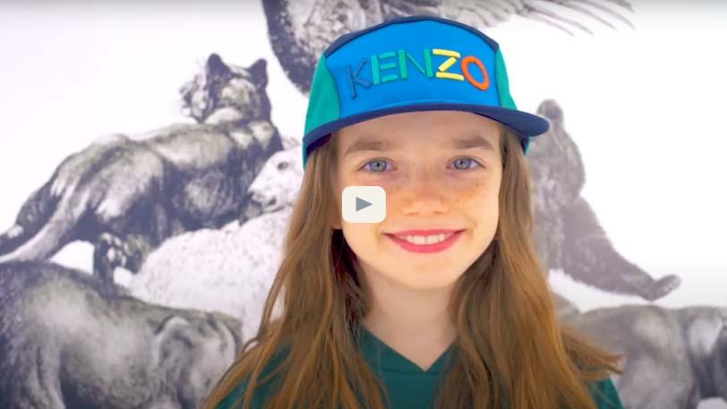 vidéo de collection kenzo kids