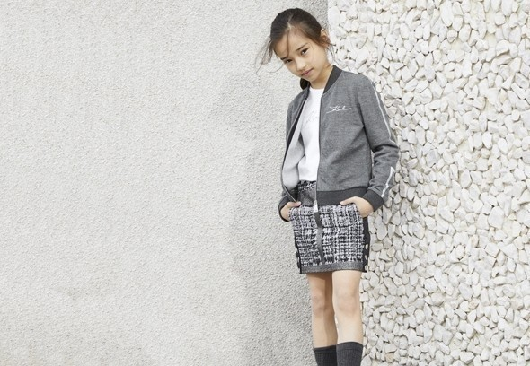 vêtement fille Karl Lagerfeld Kids