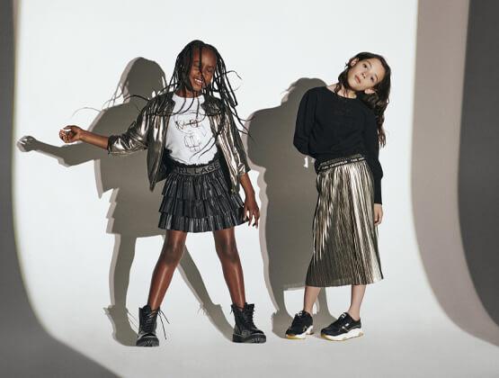 karl lagerfeld skirts for girls