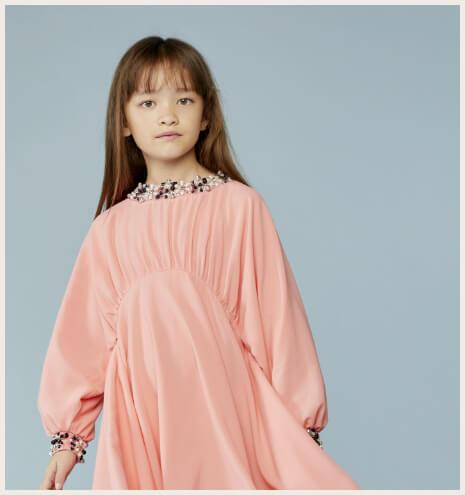 robe rose lanvin