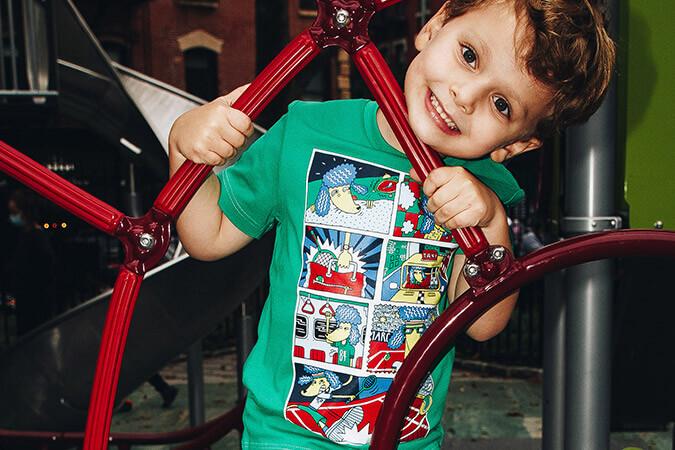 t-shirt marc jacobs enfant