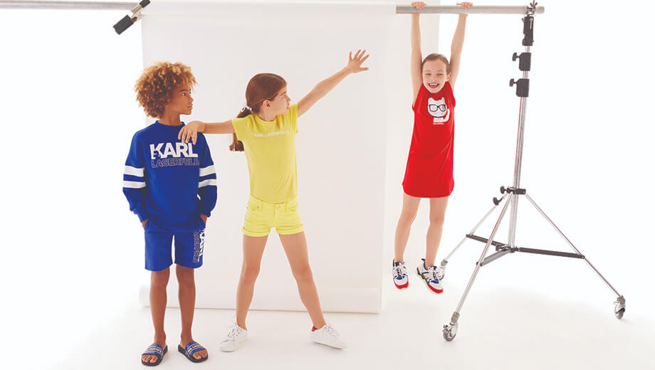 sale on karl lagerfeld kids