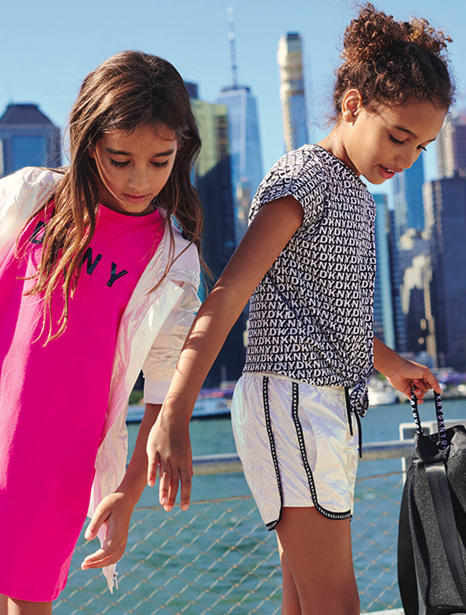 DKNY cool and trendy