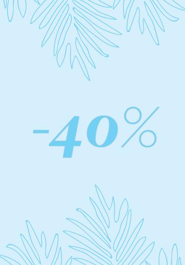 Soldes -40%